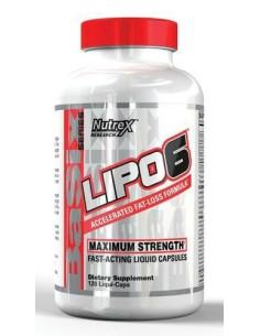 Lipo 6 120 Liquid Caps