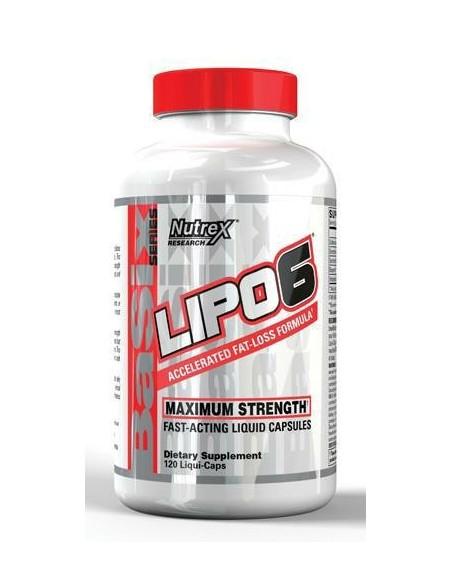 LIPO - 6 / 120 Liquid Caps
