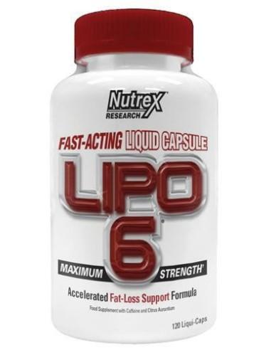 Nutrex International Lipo 6 120 Liquid Caps