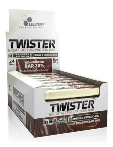 Twister Hi Protein Bar 20x60 gr
