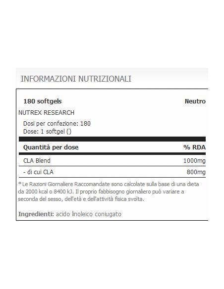 Lipo 6 CLA / 180 SoftGel