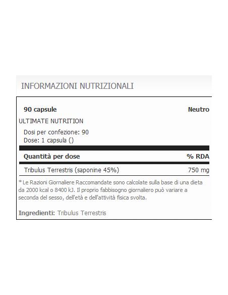 Tribulus Terrestris 90 Cap