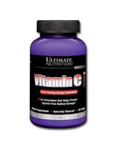 Vitamin C 120 Caps Chew Orannge