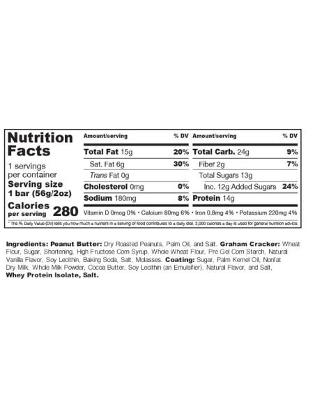 Muscle Sandwich bar 12 X 57 gr