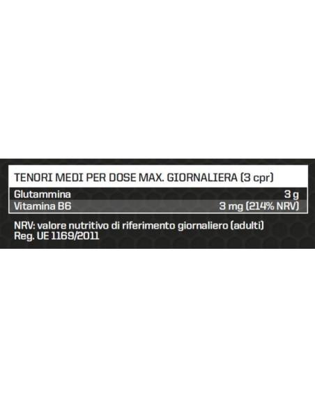 L-GLUTAMINE TABS 1 G (100 TABS)
