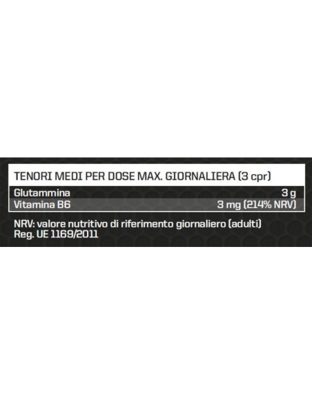 L-GLUTAMINE TABS 1 GR 100 TABS