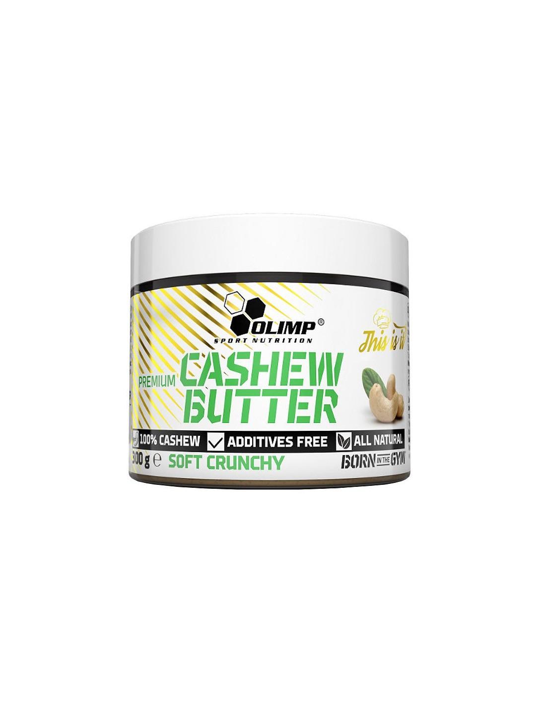 CASHEW BUTTER SOFT CRUNCHY 300 GR
