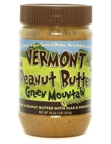 Vermont Peanut Butter 5 453 g - Green Mountain