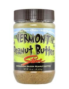 Vermont Peanut Butter 9 453 gr - Cinnamon & Raisin