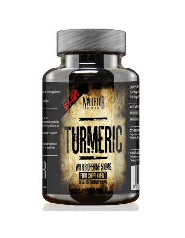 Warrior Turmeric with Bioperine (510 mg) 60 V-Caps