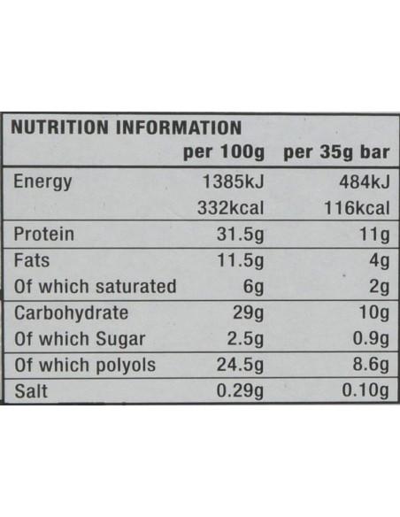 Warrior Solo Protein Bars 12x35 gr