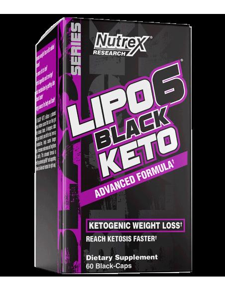 Lipo-6 Black KETO 60 cps