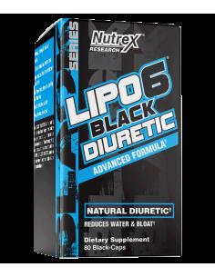 Lipo-6 Black DIURETIC 80 cps