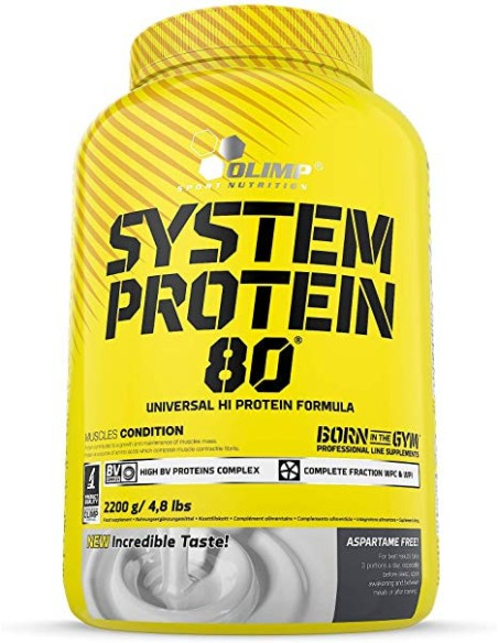 System Protein 80 2,2 Kg