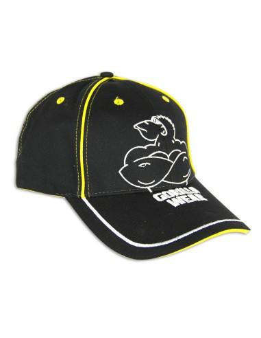 GW MUSCLE MONKEY CAP Black/Yellow OS
