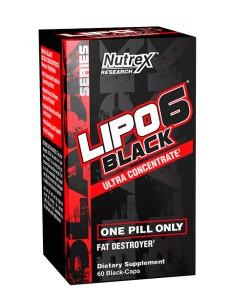 """LIPO 6 BLACK ULTRA CONCENTRATE 60 caps """"IT"""""""