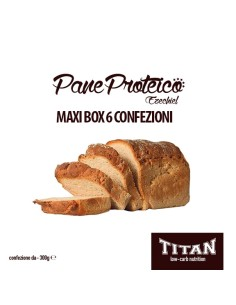 TITAN PAN BAULETTO EZECHIEL CONF. 300 GR MAXIBOX DA 6 CONFEZIONI