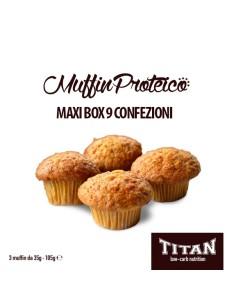TITAN MUFFIN PROTEICO CONF. 3X35GR  MAXIBOX DA 9 CONFEZIONI