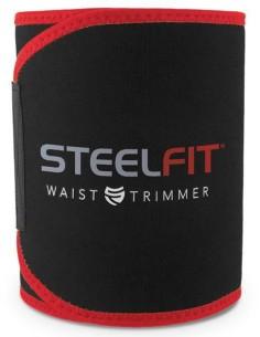 PT STEEL FIT - WAIST TRIMMER (RED & BLACK)