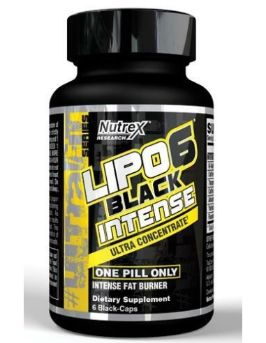NUTREX LIPO 6 BLACK UC INTENSE 60 CAPS [CLONE]