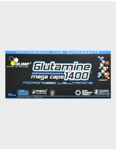 Glutamine 1400 Mega Caps 120 cps
