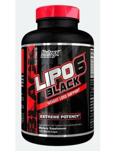 Lipo 6 Black EU 120 cps