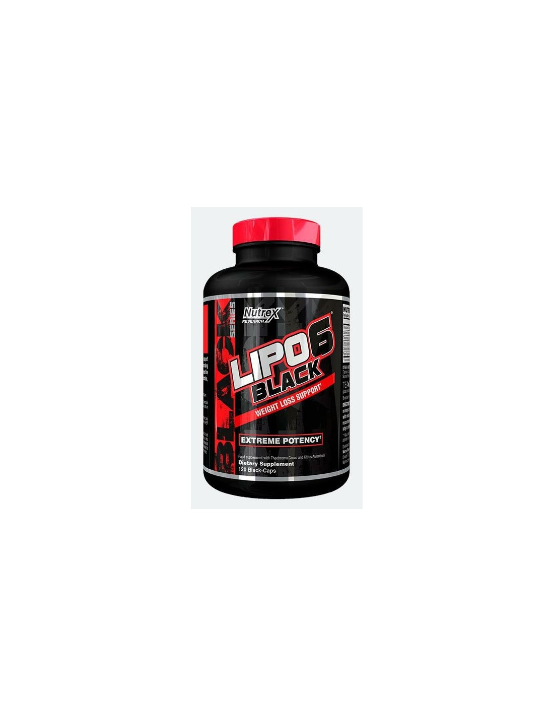 Lipo 6 Black 120 cps