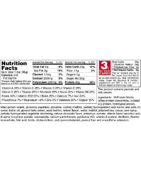 Hi-Protein Bars 12x85 gr
