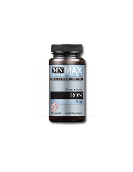 Iron Chelated 18 mg 90 V Caps