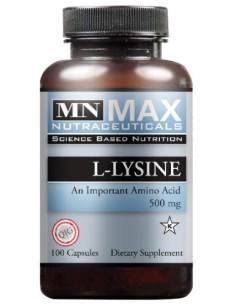 L-Lysine 500 mg 100 V Cps
