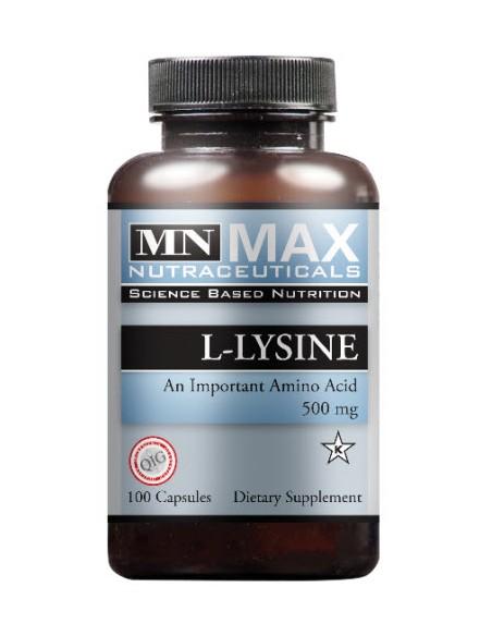 L-Lysine 500 mg 100 V Caps
