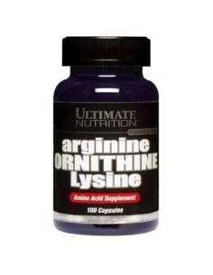 Arginina Ornitina Lysina 100 cps
