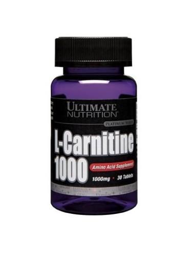 L-Carnitine 1000 mg Usp 30 Tab
